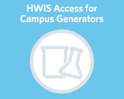 On campus Hazardous Waste Inventory System access